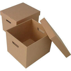 Square Apparel Packaging Corrugated Box