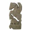 Wooden Horse Statue