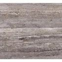 Polished Marble Stone Platinum Travertine Marble, Thickness: 18-20 Mm