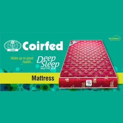 Red Coirfed Rubberized Coir Mattresses