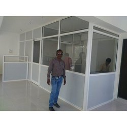 Aluminium Office Cabin Partition
