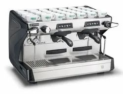 RANCILIO(C) Stainless Steel Rancilio Two Group Traditional Coffee M/C, White