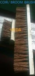 Wooden Coir Brushes, Packaging Size: 6