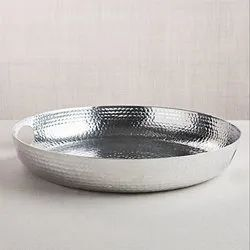 Hammered Silver Serving Tray  NJO-2815