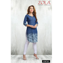 3/4 Sleeves Ladies Kurti