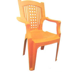 Micra Yellow Plastic Chair, for Outdoor and Indoor