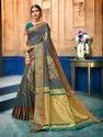 Exclusive Designer Art Silk Weaving Saree With Blouse Piece