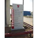 Acrylic Direction Pylon Sign Boards