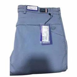 Cotton Blue Mens Trouser, Size: 28 - 44