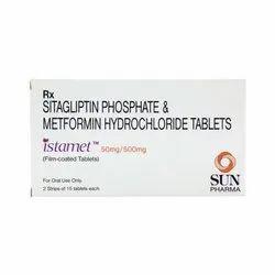 Sitagliptin Phosphate & Metformin Hydrochloride Tablets
