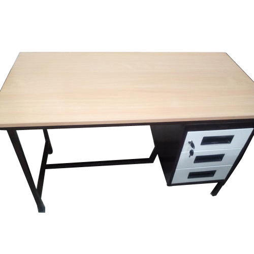 Office Table Iron Frame at Rs 4200 /piece | Wooden Office Tables ...