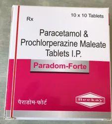 Prochlorperazine Maleate Tablets 5mg Paracetamol 650