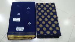 Printed Pure Chiffon Saree