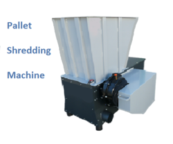 Pallet Shredding Machine