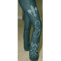 Jeans Engraving