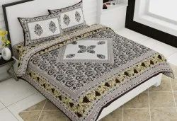Traditional Cotton Double Bedsheet