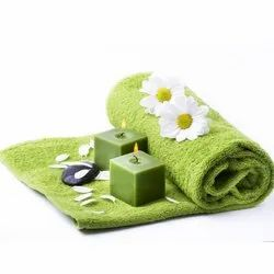 Green Bath Towels