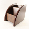 Innovative Exports Brown Wooden Pen And Mobile Stand, For Decoration