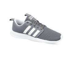 Adidas Grey Men's Sport Inspired Cloudfoam Swift Racer Shoes, | ID ...