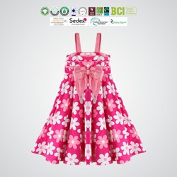 Fair Trade Organic Cotton Kids Frocks