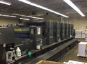 Heidelberg SM 102 S L 6 Color Coater Offset Printing Machine
