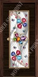 Decorative Door Paper Print Skin
