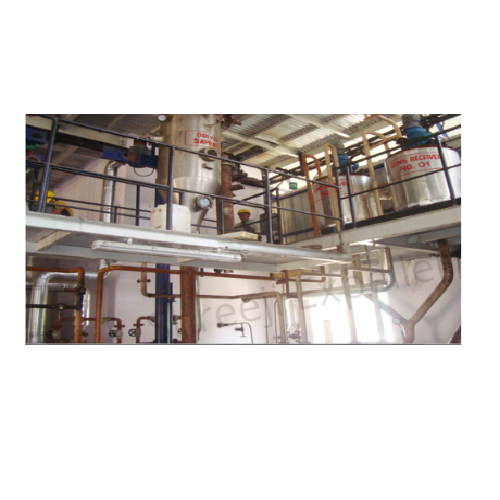 Batch Type Vegetable Oil Refinery Plant