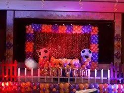 Balloon Decoration On Stage