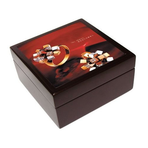 Square MDF Jewellary Box