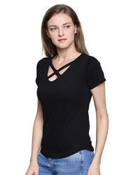 The Dry State Ladies Black T-Shirt