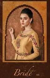 Sajawat Creation Bride Nx Vol 5 Maslin Readymade Long Suit Collection