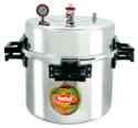160 Litres Aluminum Jumbo Pressure Cooker (114 Quarts)