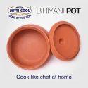 2 Liter Clay Biryani Pot