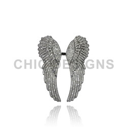 Angle Wings Two Finger Ring