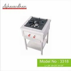25kg Single Burner Range (With Under Shelf and Tray), Model Name/Number: 3218