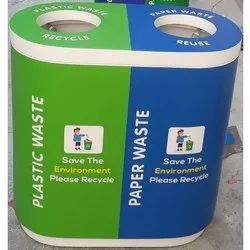 FRP Duo Recycle Bins