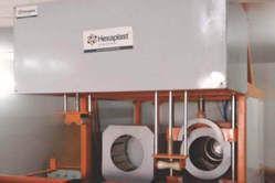 Hexa Plast Inline Socketing Machine