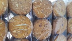 Vanilla According To Need Round peanut cookies