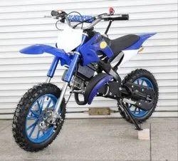 Blue Kids Dirt Bike