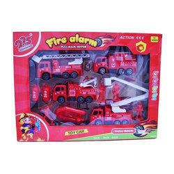 Red Fire Alarm Truck Toy