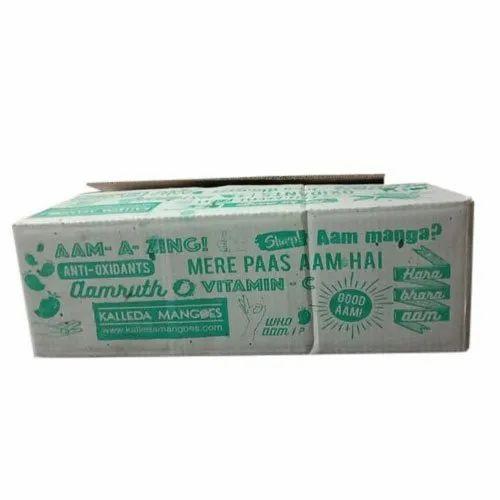 Mango Printed Packaging Box