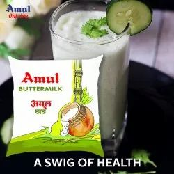Re buttermilk Amul Buttermik, Weight: 500 Ml, Quantity Per Pack: 24