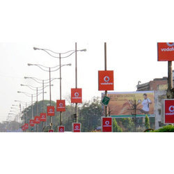 LED Tube Promotional Sign Board