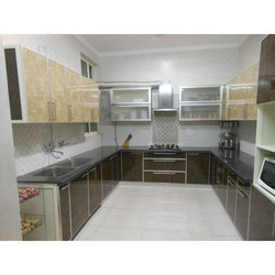 Aluminium Modular Kitchen in India on l shaped ranch style homes, large mobile homes, small mobile homes, l shaped two story homes, metal mobile homes, office mobile homes, loft mobile homes, folding mobile homes,