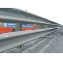 Single Sided Double Metal Beam Crash Barrier