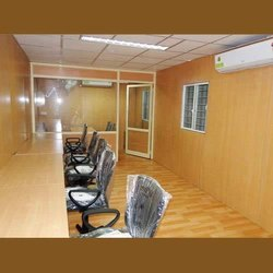 Wooden Prefabricated Office Cabin