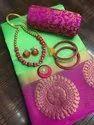 Fancy Cotton Ladies Indian Wear Saree