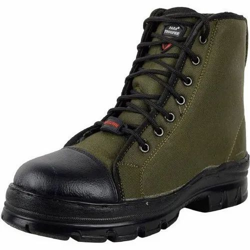 399c70c654 Green Male Para Topper Men's Combat Boots, Rs 450 /pair | ID ...