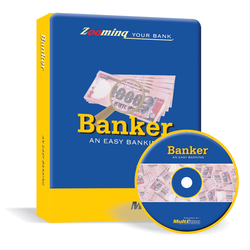 Multiicon Banker Software CD Version