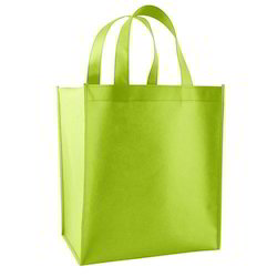 Parrot Green Non Woven Handle Bag